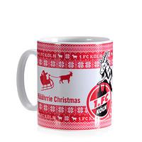 """Weihnachtstasse """"Määährrie Christmas"""""""