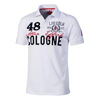 """Poloshirt """"Weißdornweg"""""""