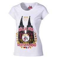 """Damen T-Shirt """"Kölle för Deutschland"""""""
