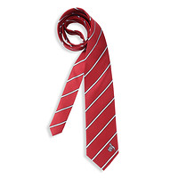 Krawatte rot/weiß gestreift