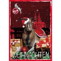 """Blechschild """"Weihnachtskarte"""""""